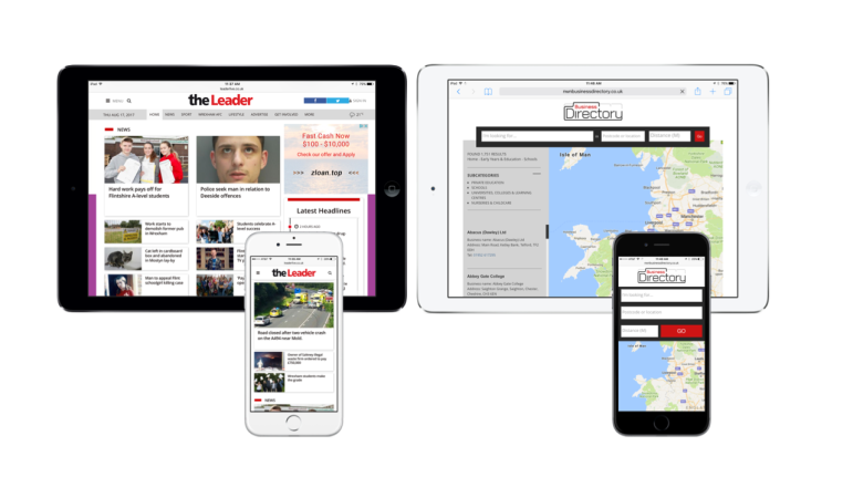 NWN Media goes live on WebCMS and upgraded business directory from Miles 33
