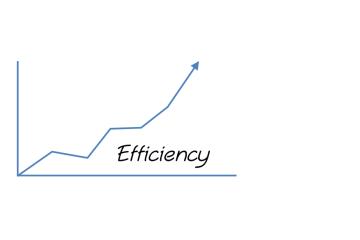 Increased Efficiencies